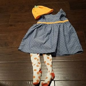fall pumpkin outfit